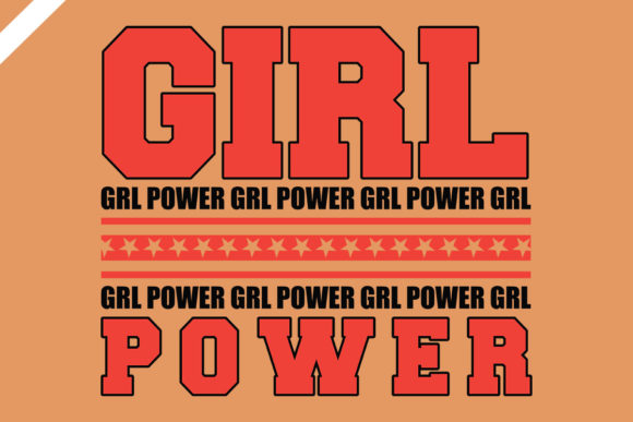Girl Power Svg Design Graphic Illustrations By TAF