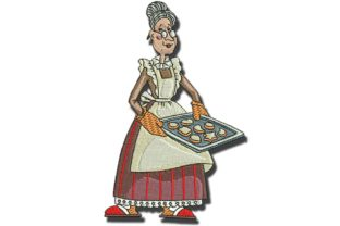Grannys Cookies Kitchen & Cooking Embroidery Design By BabyNucci Embroidery Designs