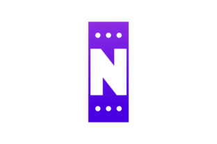 Print on Demand: Letter N Chat Logo Vector Design Graphic Logos By vectoryzen