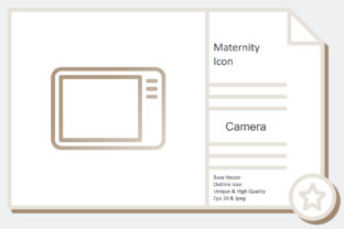 Maternity Icon -  Camera Graphic Icons By noumineomi