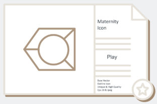 Maternity Icon -  Play Graphic Icons By noumineomi