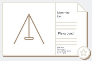Maternity Icon -  Playground Graphic Icons By noumineomi