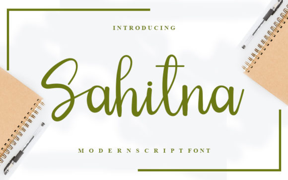 Print on Demand: Sahitna Script & Handwritten Font By Inermedia STUDIO