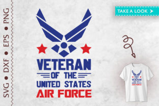 Print on Demand: Veteran of the United States Air Force Graphic Crafts By Tweetii