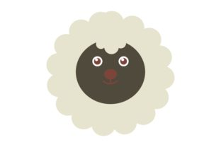 Animal Sheep Character Graphic Illustrations By luckypursestudio