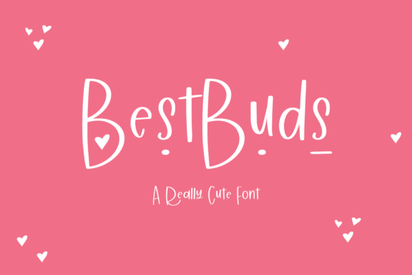 Print on Demand: Best Buds Script & Handwritten Font By BeckMcCormick