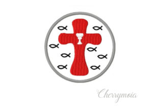 Button Baptism Baptism Embroidery Design By CherrymoiaEmbroidery