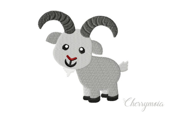 Capricorn Baby Animals Embroidery Design By CherrymoiaEmbroidery