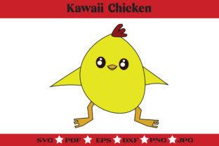 Print on Demand: Kawaii Chicken  Graphic Illustrations By McLaughlin Mall