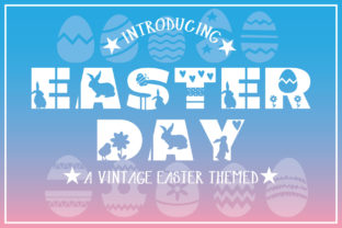Print on Demand: Easter Day Display Font By KtwoP
