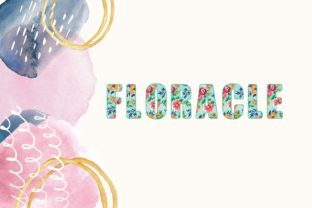 Print on Demand: Floracle Color Fonts Font By Design 2 Last