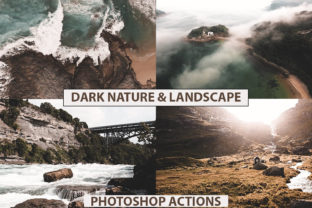 Photoshop Actions Cinematic Overlay Graphic Actions & Presets By Visual Filters
