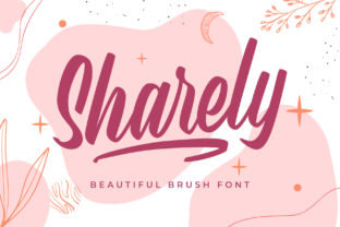 Print on Demand: Sharely Script & Handwritten Font By Arterfak Project