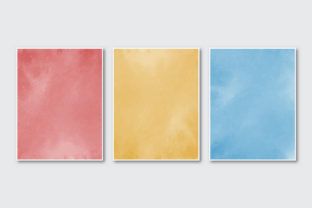 Watercolor Background Template Graphic Scene Generators By Aiartsshop