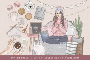 Winter Hygge Clipart Graphic Illustrations By SincerelyNix