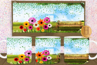 Print on Demand: Spring Scenery Mug Sublimation Graphic Graphic Crafts By Heba Morsy