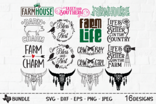 Print on Demand: Country Super Bundle - Country Designs Graphic Crafts By texassoutherncuts