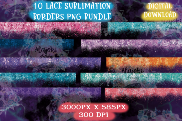 Download Distressed Lace Sublimation Backgrounds SVG Cut Files