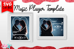 Heart Music Player Template Svg Graphic Crafts By Cute files