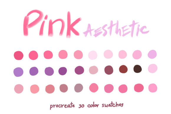 Pink Aesthetic Graphic Add-ons By Wanida Toffy