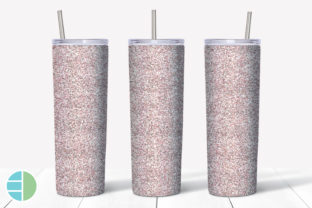 Skinny Tumbler Sublimation Red Glitter Graphic Illustrations By Enliven Designs