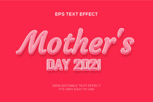 Text Effect | Happy Mothers Day Graphic Graphic Templates By VectorRiver