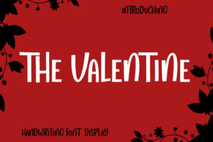 Print on Demand: The Valentine Display Font By StudioRz