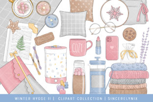 Winter Hygge Planner Clipart Graphic Illustrations By SincerelyNix