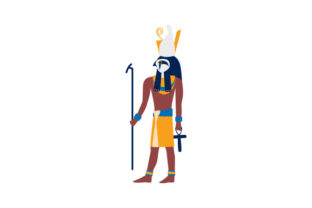 Egyptian God Horus Religious Craft Cut File By Creative Fabrica Crafts