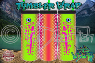 Download Fish Scale Fishing Lure Tumbler Wrap Graphic By Vudoofish Creative Fabrica