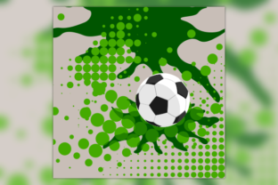 Halftone Dots Football Text Background Graphic Backgrounds By faqeeh