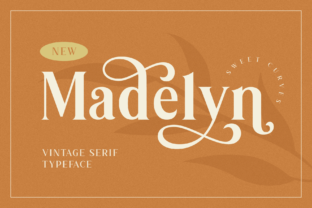 Print on Demand: Madelyn Serif Font By Bekeen.co