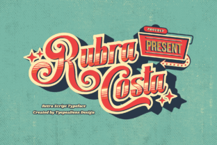 Print on Demand: Rubra Costa Script & Handwritten Font By typealiens