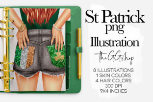 Print on Demand: Saint Patrick's Day Clipart Set Graphic Illustrations By TheGGShop