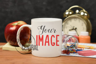 Teacher Stduent Coffee Glass Cup Mockup Graphic Product Mockups By Mockup Central