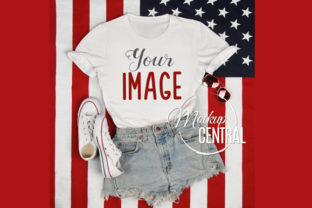 USA Vote T-Shirt America Mockup JPG Graphic Product Mockups By Mockup Central