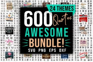 Print on Demand: Awesome Quotes SVG Bundle Bundle By Universtock