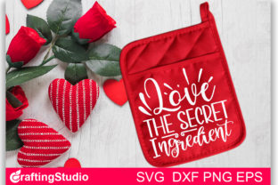 Love the Secret Ingredient SVG Graphic Print Templates By Craftingstudio