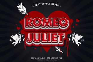 ROMEO and JULIET TEXT EFFECTS STYLE Graphic Layer Styles By Neyansterdam17