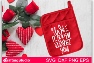 We Flippin Love You SVG Graphic Print Templates By Craftingstudio