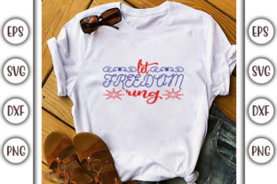 Print on Demand: 4th of July SVG Design, Red, White and Graphic Print Templates By GraphicsBooth