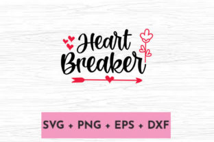 Print on Demand: HEART BREAKER Graphic Print Templates By svg.in.design