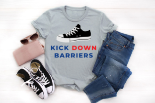 Kick Down Barriers SVG Graphic Crafts By DesignedByGeeks
