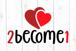 2 Become 1 Svg Graphic Crafts By kaoticsvgdesigns