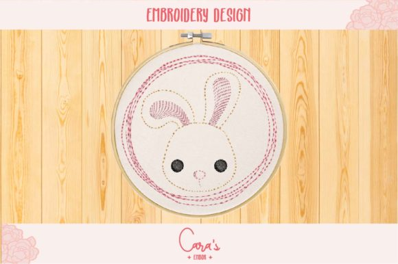 Bunny Baby Animals Embroidery Design By carasembor