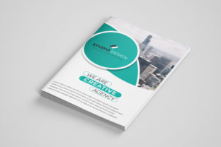 Print on Demand: Corporate Business Brochure Template Graphic Print Templates By gstudiovect