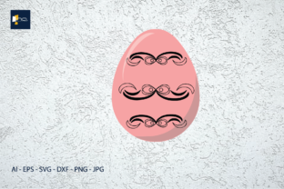 Print on Demand: Easter -  Color Eggs for Decoration Graphic Illustrations By Na Punya Studio