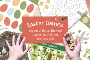 Easter Games Graphic PreK By lexiclaus