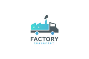 Factory Transport Logo Design Graphic Logos By sabbirahmed012