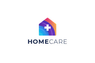 Home Health Care Modern Logo Design Graphic Logos By sabbirahmed012